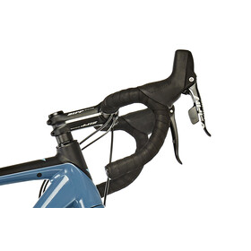 VOTEC VRX Comp - Bicicletas Gravel- negro/Azul petróleo
